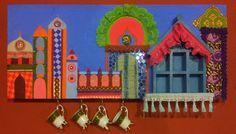 """Particolare di allestimento: Ristorante indiano """"Gran Moghul""""."""