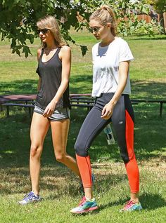What Gigi Hadid, Rosie Huntington-Whiteley, and More Wear to Work Out via @WhoWhatWear