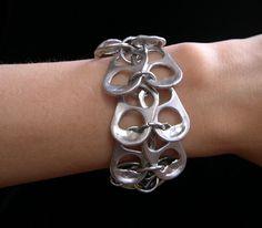 Pop Tab Bracelet - soda tab jewelry - #sodatab