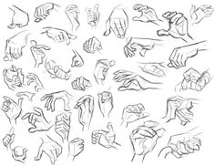 Study - Don Bluth - Hands by 384sprites.deviantart.com http://384sprites.deviantart.com/art/Study-Don-Bluth-Hands-181764201 ★ || CHARACTER DESIGN REFERENCES | キャラクターデザイン  • Find more artworks at https://www.facebook.com/CharacterDesignReferences & http://www.pinterest.com/characterdesigh and learn how to draw: #concept #art #animation #anime #comics || ★