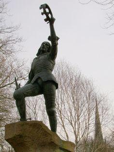 Richard III, Castle Gardens, Leicester