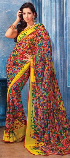 109496: #MOSAIC: Spot this art in printed IWS sarees. Shop now!