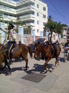 Haitians police