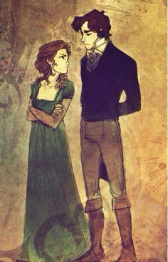 Will and Tessa Herondale.