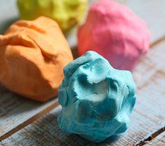 DIY 2-Ingredient Playdough