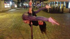 street pole #open V