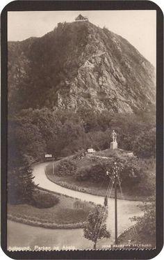 Aalesund i Møre og Romsdal fylke . Parken og Aksla. Utg Havnevik