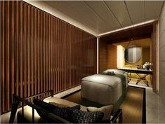 Studio HBA | Hospitality designer | Best interior design | Hotel design | 5-star hotel designers | Award winning hospitality design | HBA | Hirsch Bedner Spa Interior Design, Design Hotel, Spa Design, Bali Spa, Spa Treatment Room, Spa Lighting, Spa Rooms, Hotel Reception, Massage Room