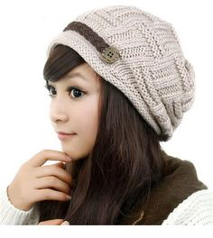These Women's Knit Beanies are cute Christmas gifts and so trendy! You could make this an awesome stocking stuffer this year :)