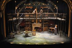 Pygmalion. The Pasadena Playhouse. Scenic design by Stephanie Kerley Schwartz. 2015