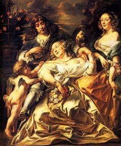 Portrait of a Family - Jacob Jordaens