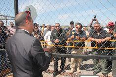 Elementos de la Fiscalía piden a celadores se desistan de la manifestación | El Puntero