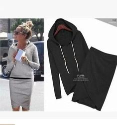 Online Shop 2014 top set women active wear hoodies designer sweatshirt skirt twinset tracksuits flora clothing 2 piece sets Fast shipping|Aliexpress Mobile