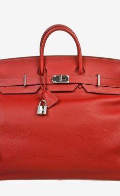 Hermès Rouge Garrance (Red) Satchel   VAUNTE