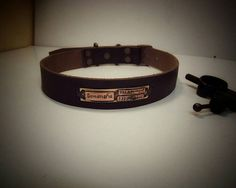 Dog Collar Personalized Pet Collar Handmade by VakalisCreations