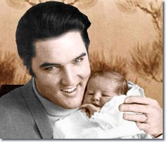 elvis with baby lisa marie