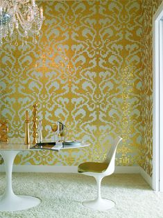 66288c97c1b7  damasco oro giallo  tiles in glass and gold by carlo dal bianco
