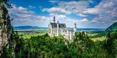 ' Neuschwanstein Fairytale' by TK Goforth