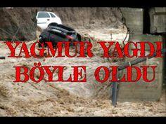 Antalyada yağmur hayatı felç etti #04