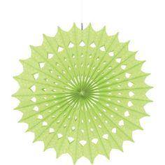Honeydew Paper Fan Decoration - Party City