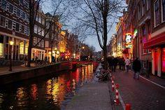 Vista Barrio Rojo, Amsterdam