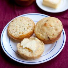 Delicious moist cornbread muffins.