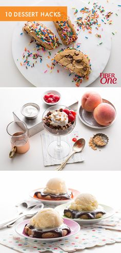 Dieting can suck less. Here are 10 dessert hacks that will help keep your new year's resolution (and all with less than 5 ingredients)!