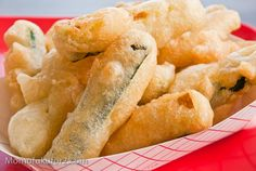 Beer-Battered Zucchini Sticks Recipe-Tried them out. DEFINATELY add a little seasoning salt. Fried Zucchini Batter, Fried Zucchini Sticks, Fried Zucchini Chips, Beer Recipes, Cooking Recipes, Yummy Recipes, Recipies, Deep Fried Recipes, Beer Batter