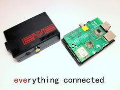 EVE Alpha - Raspberry Pi wireless development hardware by Ciseco, via Kickstarter.