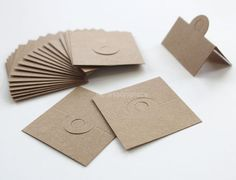 50 pcs of Blank(No Printed) Design Brown Kraft  Paper Card  for Accessories and Jewelry for DIY on Etsy, $5.32 CAD