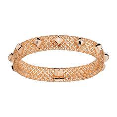 Bracciale #Diamantissima in oro rosa della collezione Gucci Gioielli.