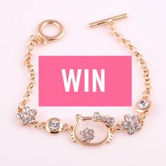 JEWELRY HELLO KITTY GIVEAWAY  Good Luck!