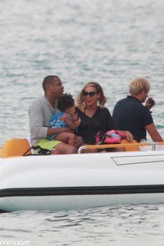 Celeb Diary: Beyoncé & Jay Z in Sicilia