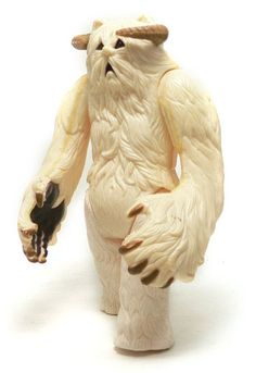 "The Wampa figure, released as part of Kenner's ""Star Wars: The Empire Strikes Back"" toys in 1980"