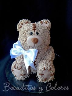 Teddy bear cake by Tutita