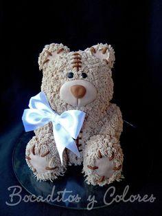 Teddy bear cake by Tutita