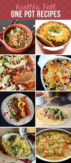 23 Healthy Recipes for Fall via FitFoodieFinds.com #glutenfree #healthyrecipe