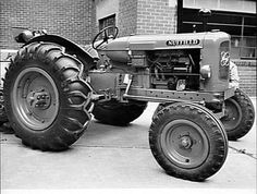 DEC 1950 A `NUFFIELD' TRACTOR FITTED WITH A `PERKINS' ENGINE.: