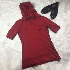 Rare Original Release GAP Product (Red) 3/4 Leeve African Cotton Hoodie Women S
