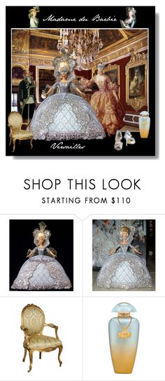 """Madame du Barbie - Versailles"" by jonna-hansen ❤ liked on Polyvore featuring Bob Mackie, Masquerade, The Merchant Of Venice, Barbie and designedbyyou"