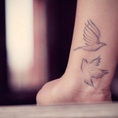 Bird tattoos that are not the average.