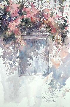 direk kingnok watercolor artist: