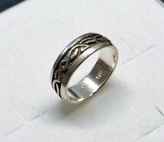 Vintage Ringe - 19 mm Nostalgischer Ring Silber 925 Vintage SR946 - ein Designerstück von Atelier-Regina bei DaWanda