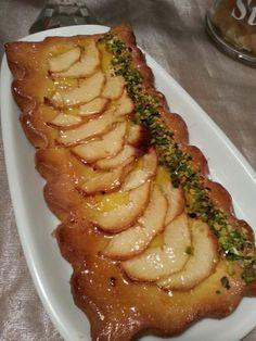 Crostata di mele e granella di pistacchio | Ricetta di In cucina con Gianna | #RisanaLa