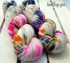 by Lambstrings on Etsy Hand Dyed Yarn, Merino Wool, Fiber, Sport, Knitting, Unique Jewelry, Handmade Gifts, Etsy, Kid Craft Gifts