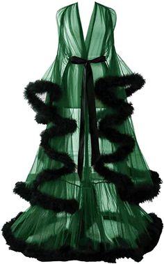 Changuan Sexy Feather Bridal Robe Tulle Illusion Long Wedding Scarf New Custom Made Burgundy L/XL at Amazon Women's Clothing store Lingerie Dress, Wedding Lingerie, Kimono Dressing Gown, Sheer Gown, Satin Kimono, Chiffon Material, Long Kimono, Bridal Robes, Stretch Satin