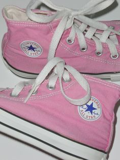 Pink Converse :)  my first pair were this color.. Got them for 50cents at a yard sale.. I always thought I would get married in them.