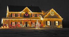 Fantastic Christmas Holiday Lights Display  Family Holiday