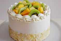 Kiara`s cakes: Tarta tropical / Tropical Fruit Layer Cake