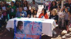<p>Chihuahua, Chih.- Después de que ayer domingo se cumplieran siete años de su desaparición, familiares, Justicia para Nuestras Hijas
